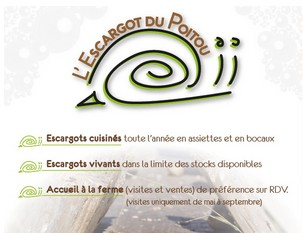 Escargot prsentation